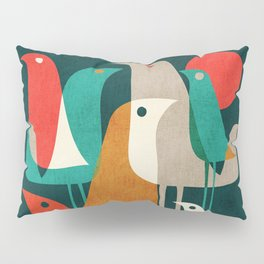 Flock of Birds Pillow Sham