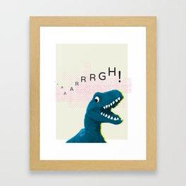 Dinosaur Run! Framed Art Print