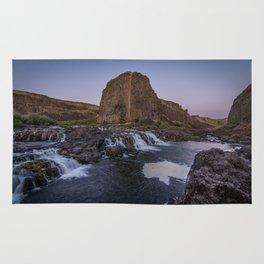 Palouse Falls - Waterfall Sunset Rug
