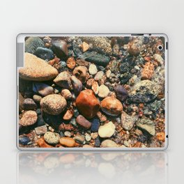 Ocean Pebbles Laptop & iPad Skin