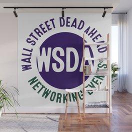 WALL STREET DEAD aHEAD Wall Mural