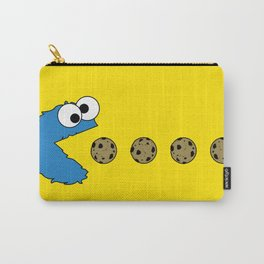Cookie monster Pacman Carry-All Pouch