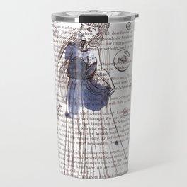 Fish-Lady Travel Mug