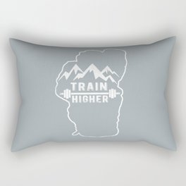 Train Higher Tahoe Rectangular Pillow