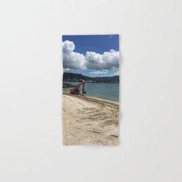 Beach Digger Hand & Bath Towel