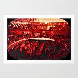 Mortal Arena Art Print
