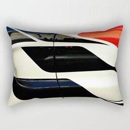 Car Door Geometric Abstract Rectangular Pillow