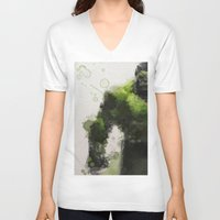water colour V-neck T-shirts featuring Water Colour Hulk by Scofield Designs