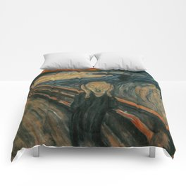 The Scream - Edvard Munch Comforters