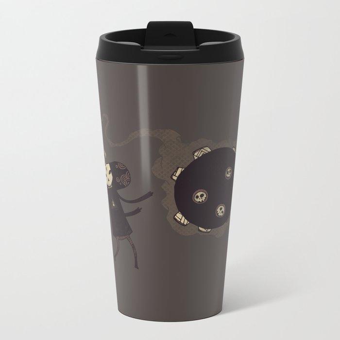 Katamari of the Dead Metal Travel Mug