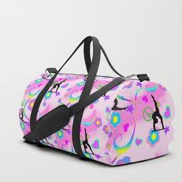Retro Gymnastics Duffle Bag