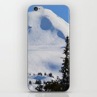 skiing iPhone & iPod Skins featuring Back-Country Skiing  - III by Alaskan Momma Bear
