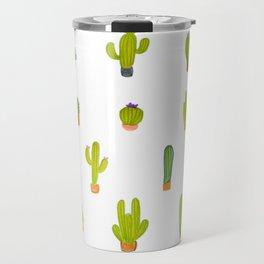 Mind-calming cactuses Travel Mug