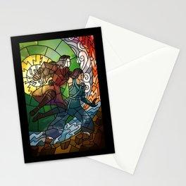 Korrasami - Fighting Duo Stationery Cards