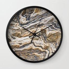 Marble layers Wall Clock
