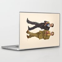 the office Laptop & iPad Skins featuring The Office by Dave Collinson