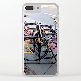 Parallel Parking Shuffle Clear iPhone Case