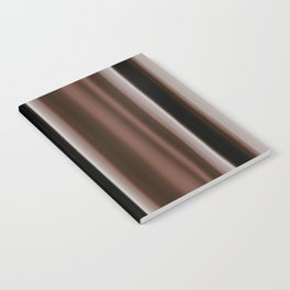 Ombre Brown Earth Tones Notebook