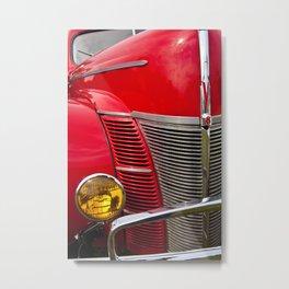 Vintage V8 Metal Print