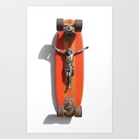 LORD OF DOGTOWN Art Print