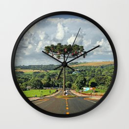 Araucaria da Tocantins Wall Clock