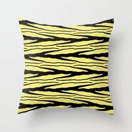 A New Wild - Yellow Throw Pillow