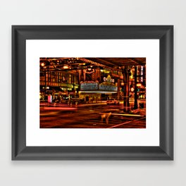 Chicago Theater Framed Art Print
