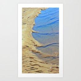 Brewster Flats Abstract Art Print