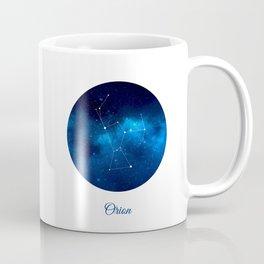 Orion Constellation Dark blue night Coffee Mug