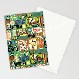 Reading and Writing Stationery Cards