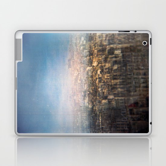 Paris Multiple Exposure  Laptop & iPad Skin