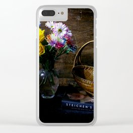 Welcome Home Clear iPhone Case