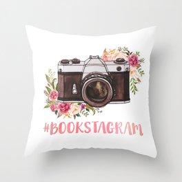 # bookstagram Throw Pillow