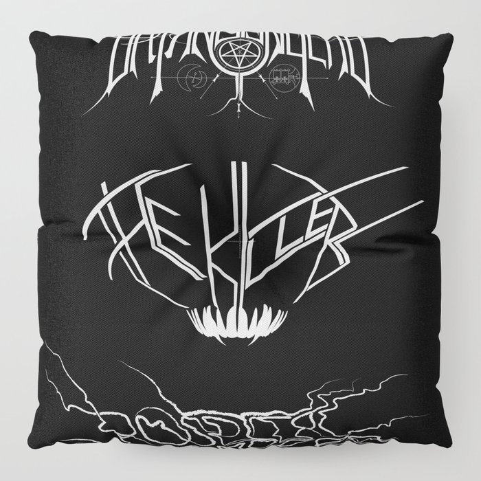 The Best Ever Death Metal Bands Out Of Denton Floor Pillow