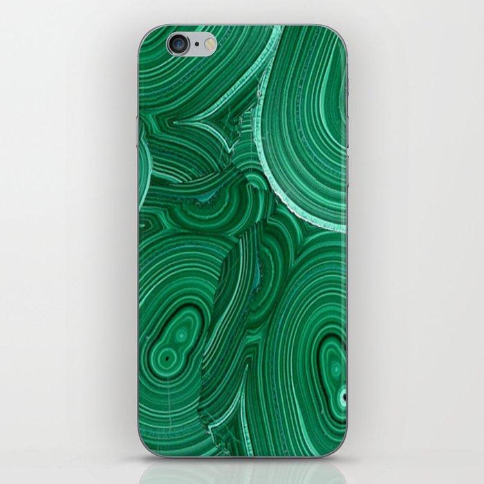 Green Malachite Nature Pattern Design Abstract iPhone Skin
