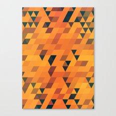 Gold Pattern Canvas Print