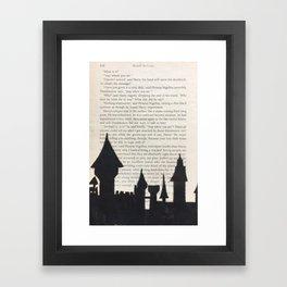 Hogwarts! Framed Art Print