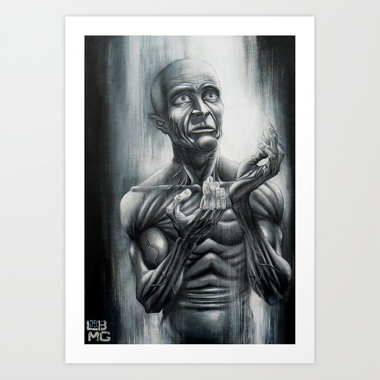 The Pray Art Print