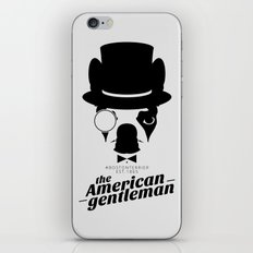 Boston Terrier: The American Gentleman. iPhone & iPod Skin