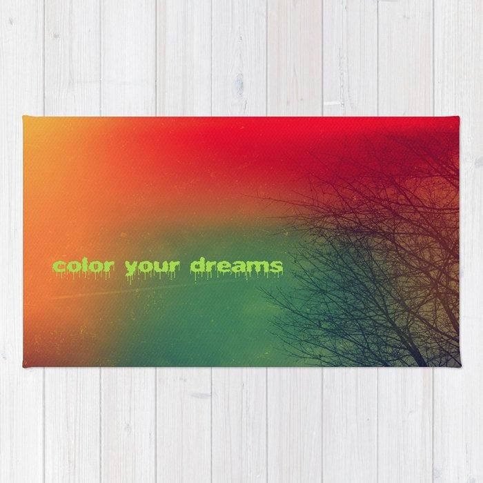 Color your dreams Rug