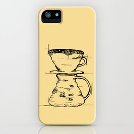 Pour Over iPhone Case