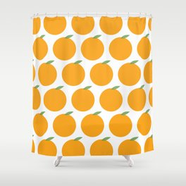 Syracuse New York Orange Shower Curtain
