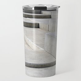concrete geometry - modernist abstract 4 Travel Mug