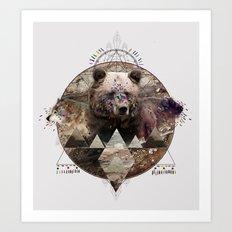 ANIMAL ECHOES Art Print