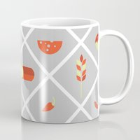 food Mugs featuring food. by Monika Traikov