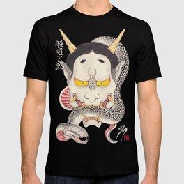 hannya and snake T-shirt