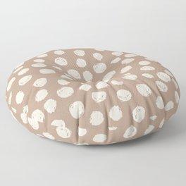 circles (22) Floor Pillow