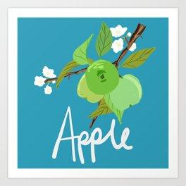 Apple Fruit Tree Art Print