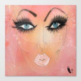 Just BE Healing Art Illustration Canvas Print