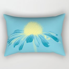 Echinacea in pastel shade Rectangular Pillow